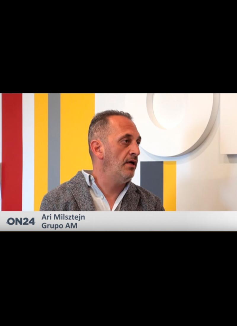 Ari Milsztjn en ON24