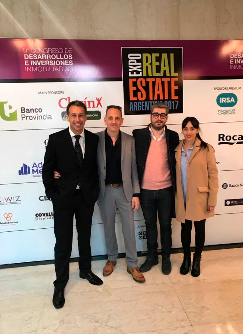Expo real estate Argentina 2017, Hilton hotel Buenos Aires