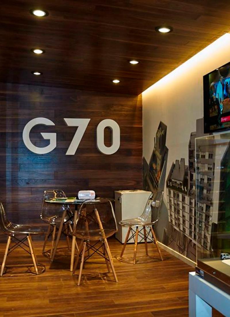 Inauguración oficina de venta G70